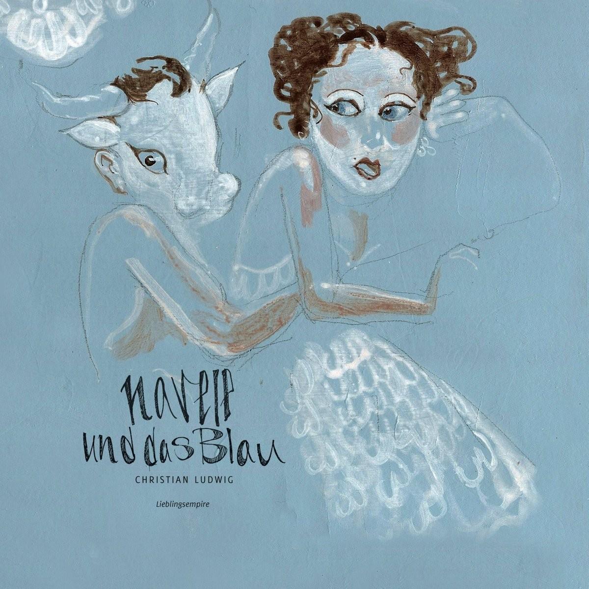 """Titelbild """"Navele und das Blau"""""""