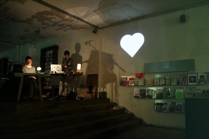 Fotos der Lesung im Voo Store Berlin