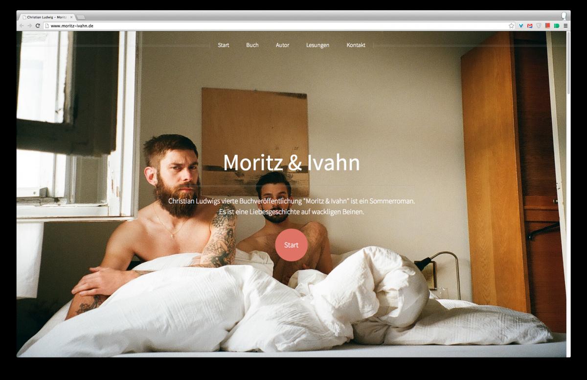 """Webseite für """"Moritz & Ivahn"""" ist online"""