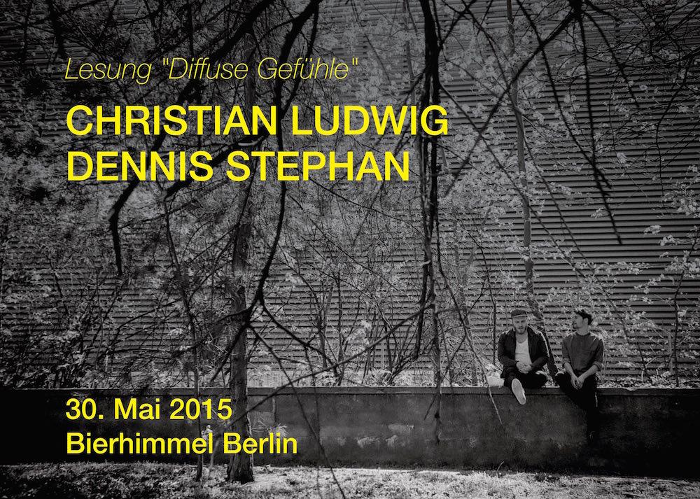 Lesung am 30. Mai 2015 im Bierhimmel Berlin