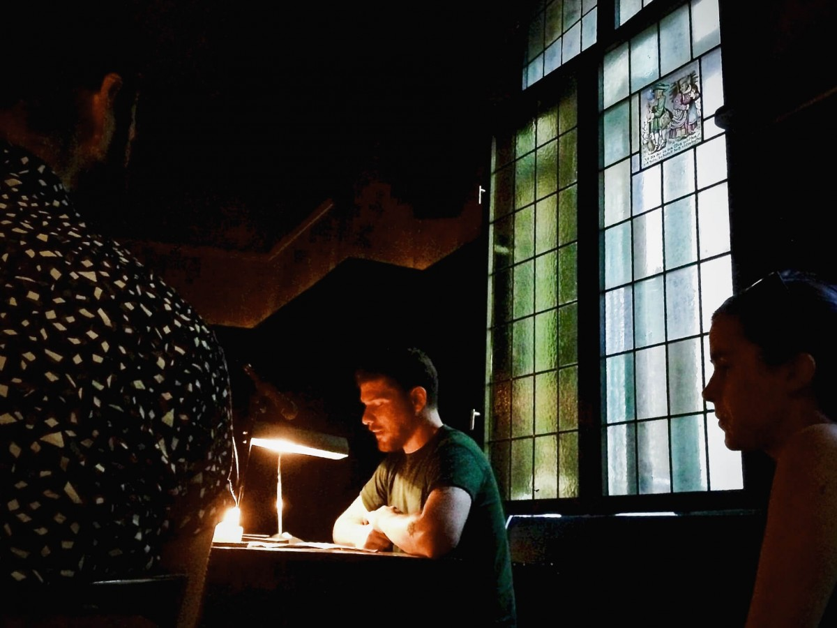 Bilder zur Lesung der Langen Buchnacht